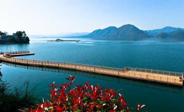 醉美黄山之湖泊
