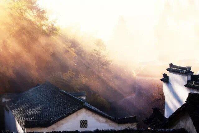秋天必去的古村落之:塔川村