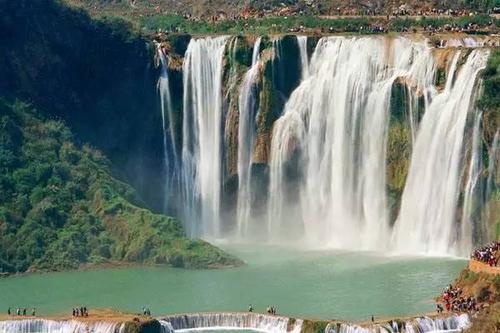 醉美黄山之峡谷瀑布