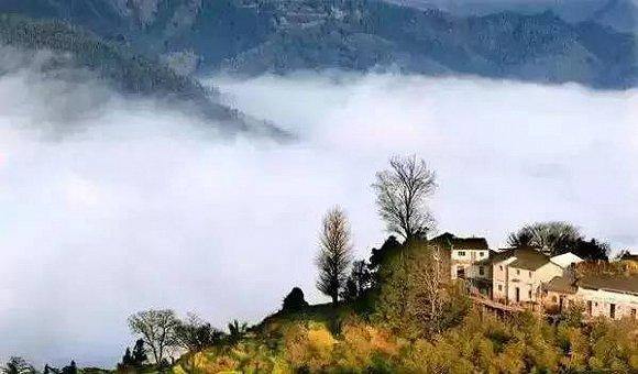 木梨硔-云端之上的古村落