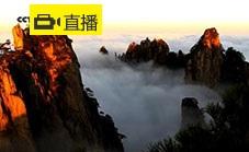 黄山卧云峰景点直播