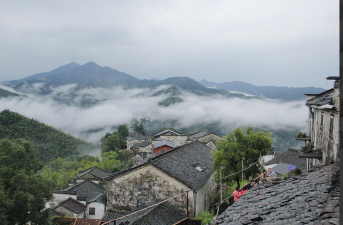 木梨硔村-云上的村落