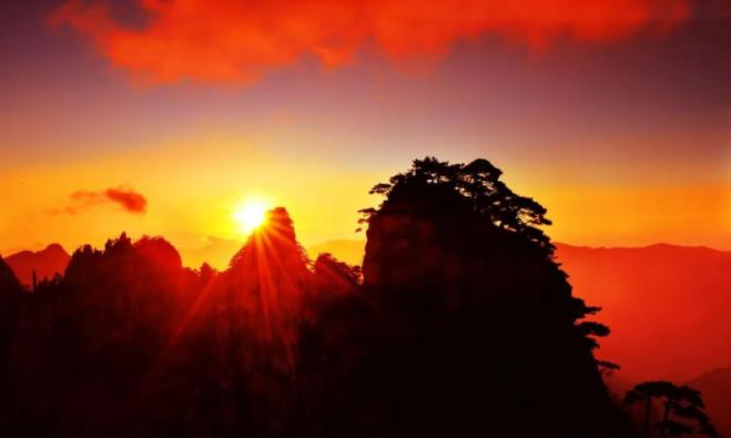 黄山观日出日落的最佳位置全攻略