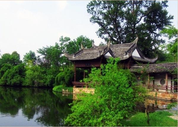 唐模村—十桥九貌,唐模在画中居