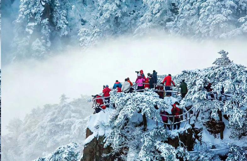 黄山冬季游的妙处
