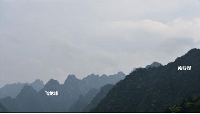 黄山飞龙峰