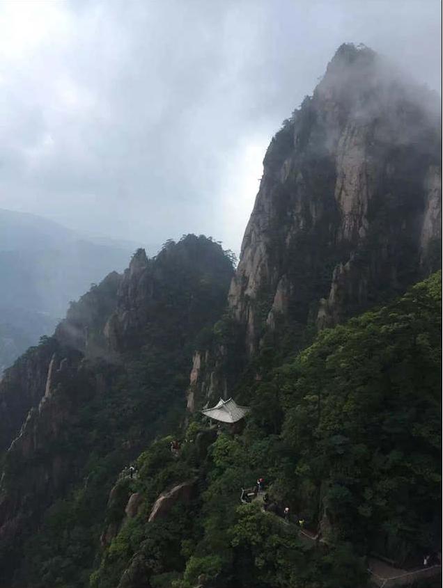 黄山西海大峡谷探海亭