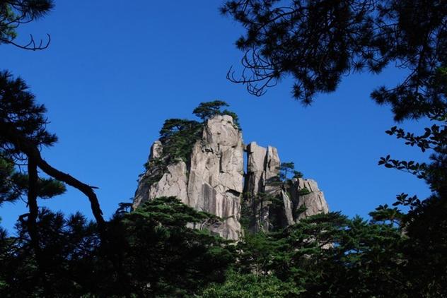 黄山石笋峰