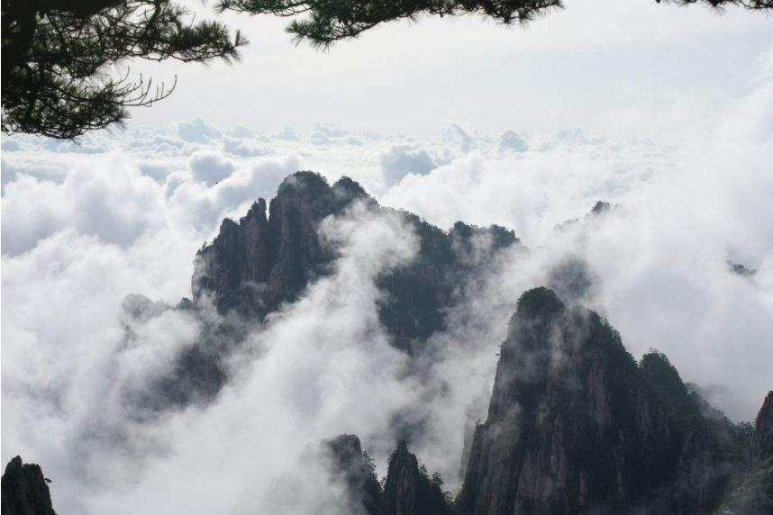 黄山五绝之云海